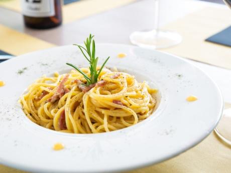 Carbonara-Restaurant Hotel Alla Fonte-Arta Terme-Karnien