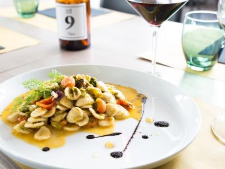 Orecchiette mit Rübengrün- Restaurant Hotel Alla Fonte-Arta Terme-Karnien